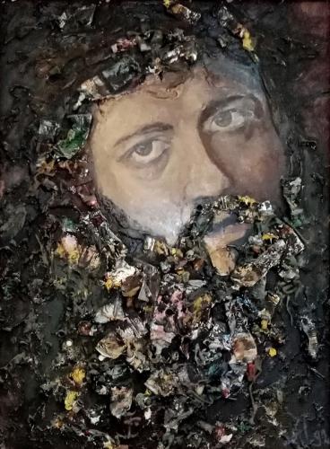 Портрет друга - художник Александр Нагнибеда