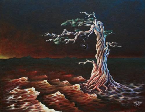 Кровь земли - художник Елена Моргун (Trish)